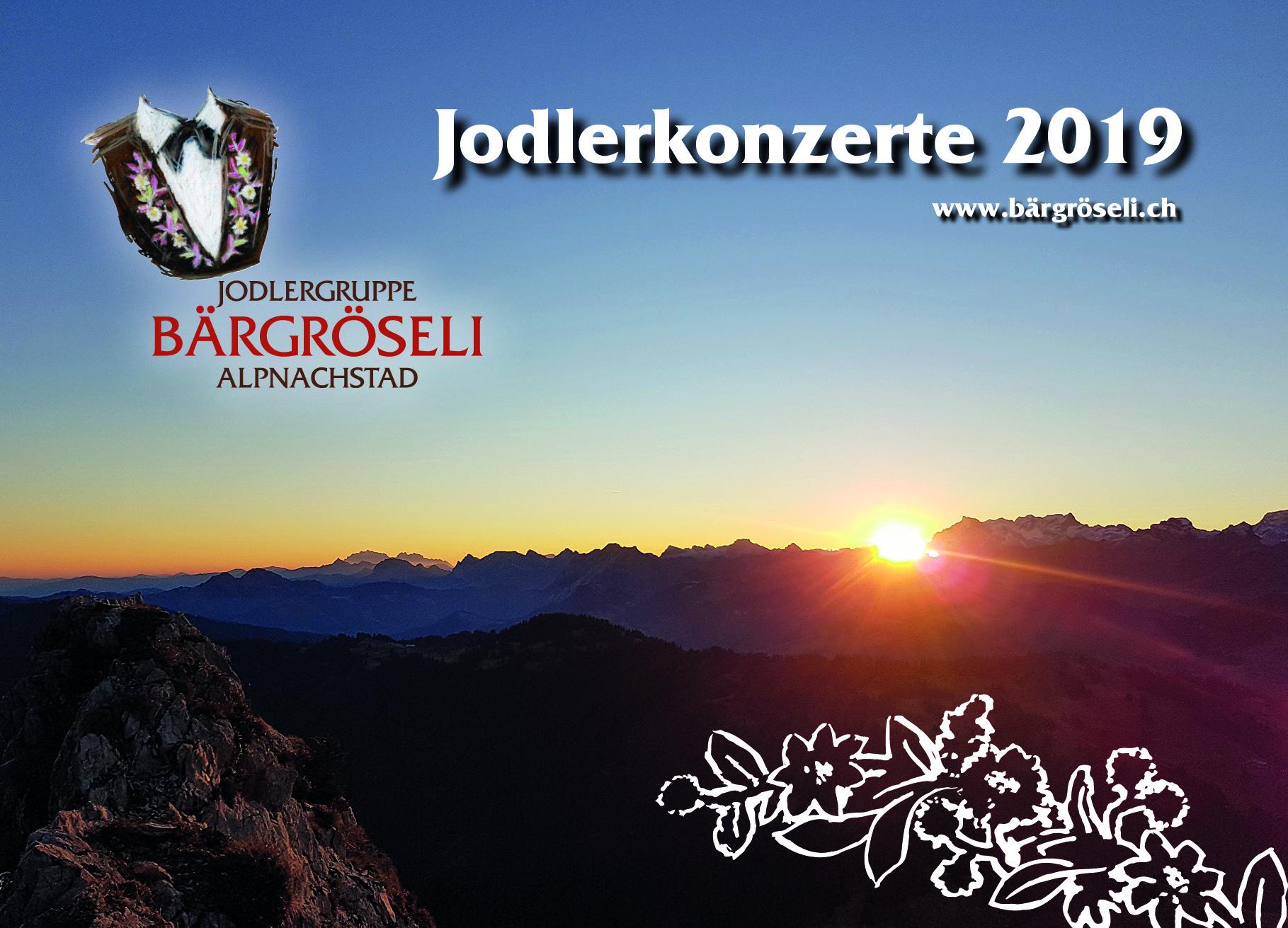 Jodlerkonzerte 2019